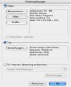 iMovie-Export: Übersicht